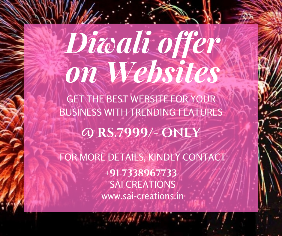 Diwali Offer on Websites
