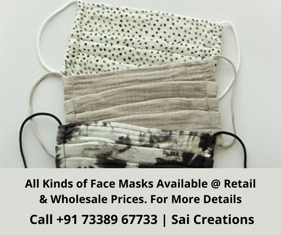 All Kinds Of Face Masks Available
