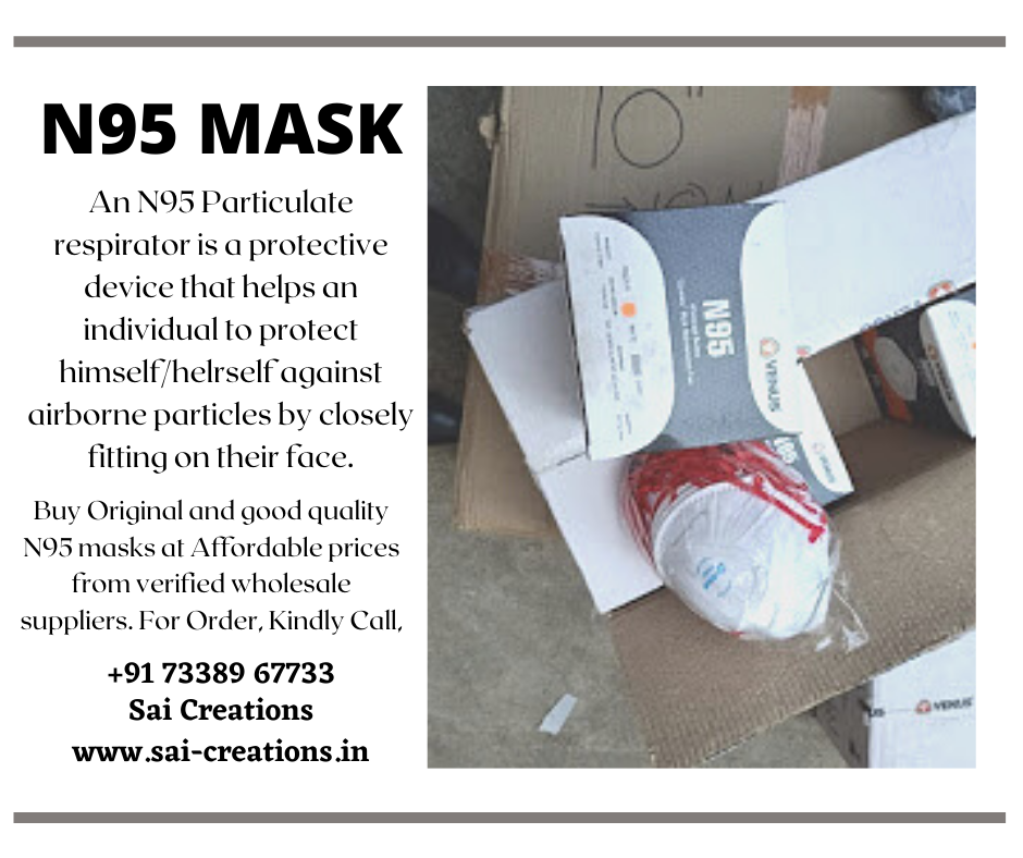 Buy Good Quality N95 masks at Affordable prices from verified wholesale suppliers