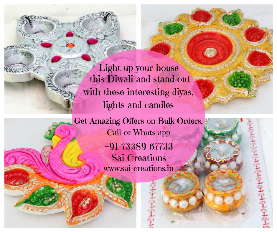 Diwali Diyas, Lights & Candles @ Affordable Prices