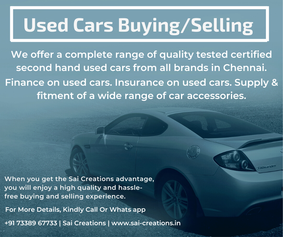 Used Cars Buying/Selling