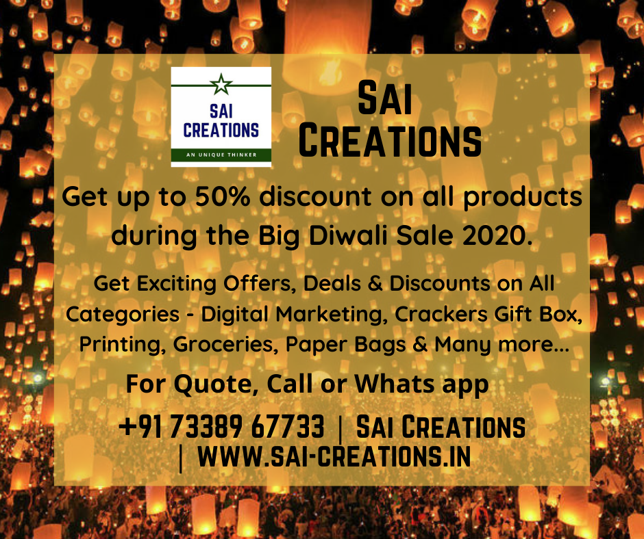 Get up to 50% discount on all products during the Big Diwali Sale 2020