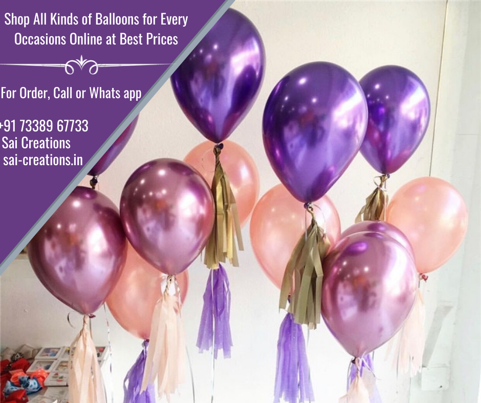 Wide Range of Birthday Balloons at Best Prices