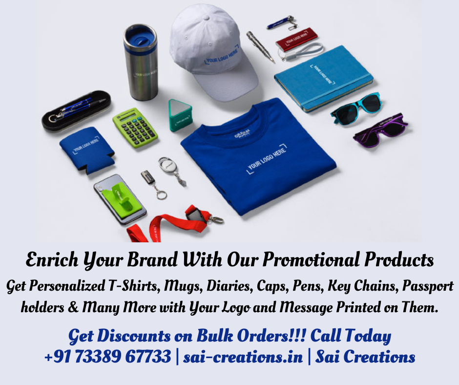 Corporate Promotional Products With Printing @ Best Price