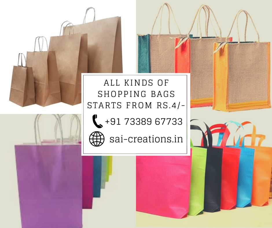 All Kinds of Shopping Bags Available